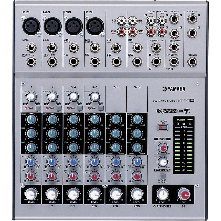 YamahaMW10 10-Input USB Mixing Studio