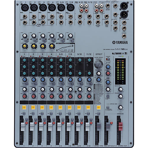Yamaha MW12CX 12-Channel USB Mixer with Compression and FX