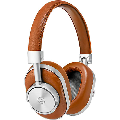 Master & Dynamic MW60 Over Ear Wireless Headphone Brown/Silver