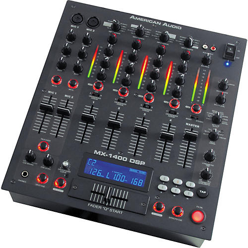 American Audio MX-1400 DSP 4-Channel DJ Mixer with Effects-thumbnail