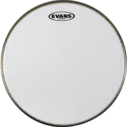 Evans MX White Marching Snare Batter Head-thumbnail