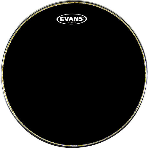 Evans MX1 Marching Bass Drum Head Black 18 in.