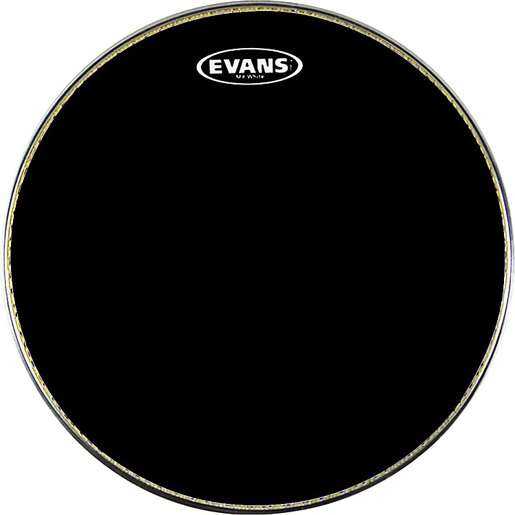 Evans MX1 Marching Bass Drum Head Black 24 Inch