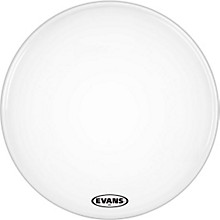 Evans MX2 White Marching Bass Head 18 in.