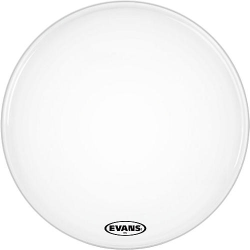 Evans MX2 White Marching Bass Head  32 in.