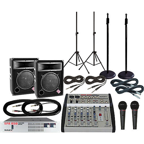 Nady MXE-612/PS112 PA Package