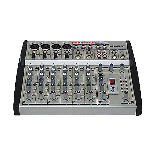 Nady MXE-812 8 Channel Mic/Line Mixer with DSP FX-thumbnail