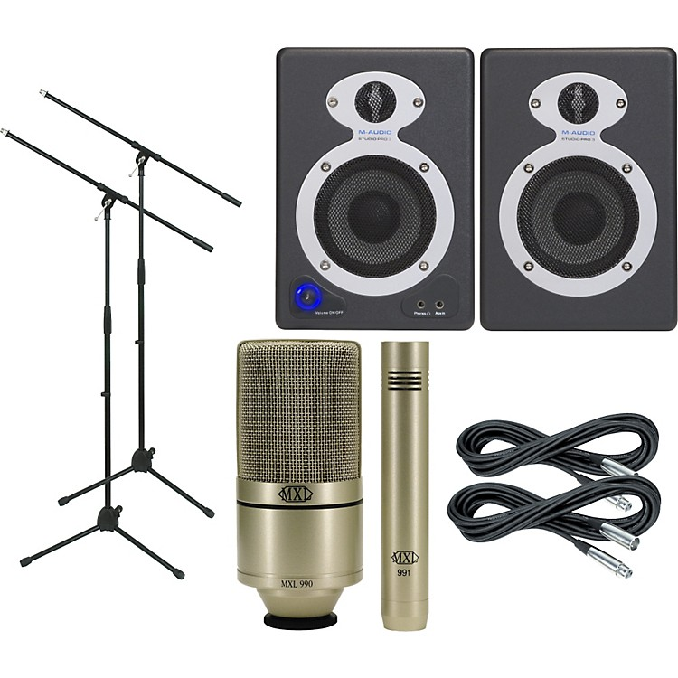 M-Audio MXL Monitor and Mic Package