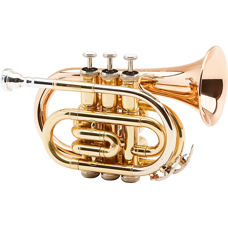 AlloraMXPT-5801 Series Pocket TrumpetLacquer Rose Brass