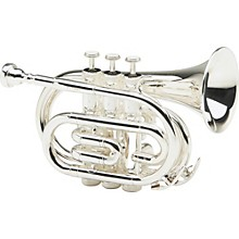 Allora MXPT-5801 Series Pocket Trumpet Silver