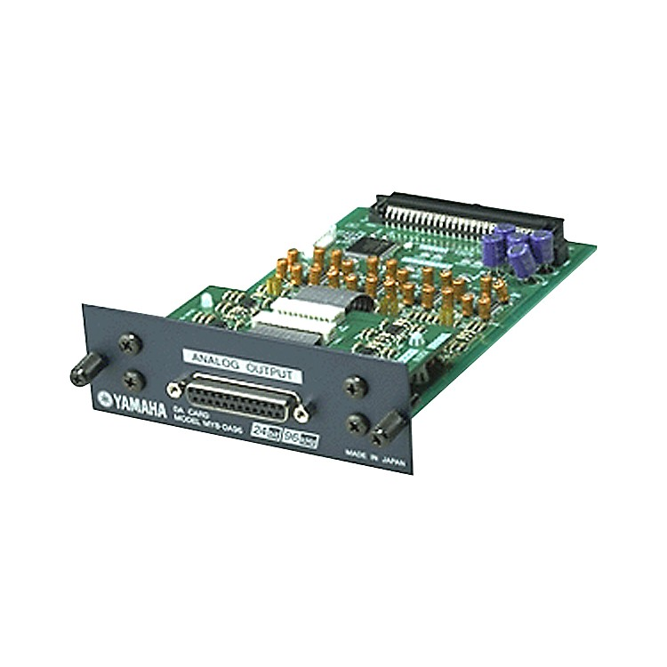 Yamaha MY8DA96 8-Channel 24-bit/96kHz analog line-level output card