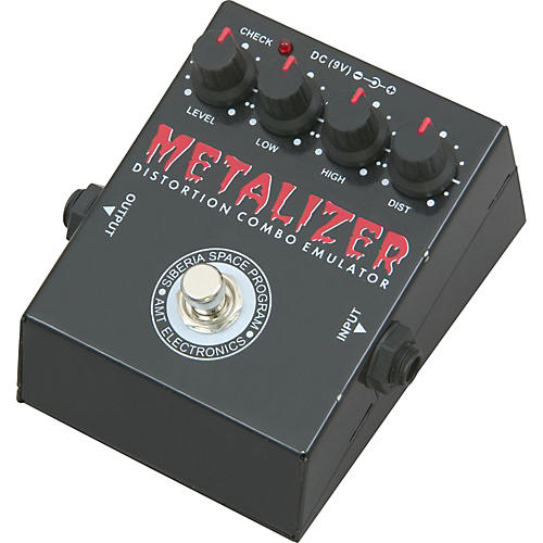AMT Electronics MZ-1 Metalizer Distortion Guitar Effects Pedal
