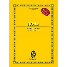 Eulenburg Ma mère l'oye (Cinq pièces enfantines) Study Score Series Softcover Composed by Maurice Ravel