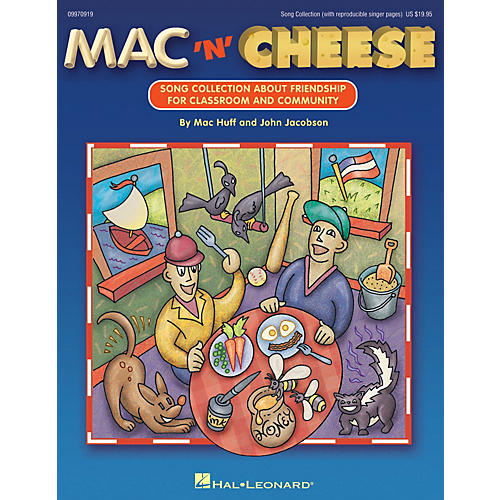 Hal Leonard Mac 'n' Cheese (Song Collection About Friendship) ShowTrax CD Composed by John Jacobson-thumbnail