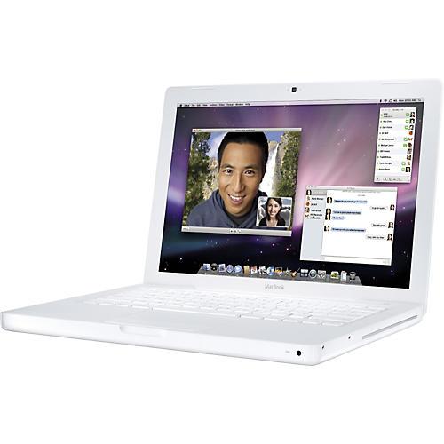 Apple MacBook 2.1GHz Intel Core 2 Duo - White-thumbnail
