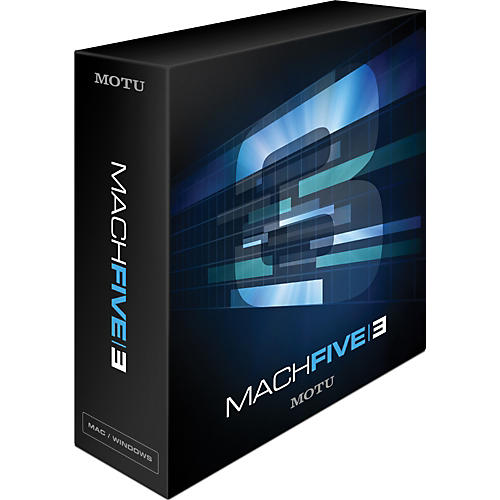 MOTU MachFive 3 Competitive Upgrade