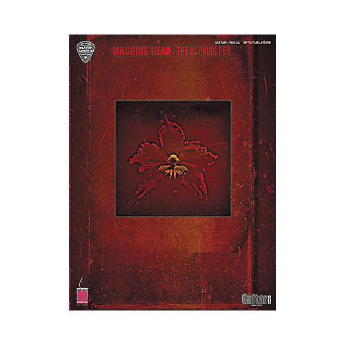 Cherry Lane Machine Head The Burning Red Guitar Tab Songbook-thumbnail