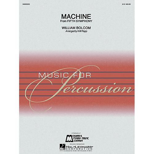 Hal Leonard Machine (Percussion Ensemble) Concert Band Level 4-thumbnail