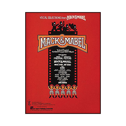 Hal Leonard Mack & Mabel Vocal Selections Songbook