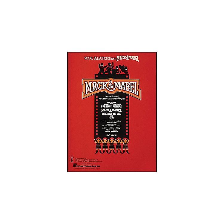 Hal LeonardMack & Mabel Vocal Selections Songbook