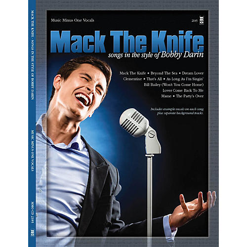 Music Minus One Mack the Knife (Songs in the Style of Bobby Darin) Music Minus One Series Softcover with CD-thumbnail