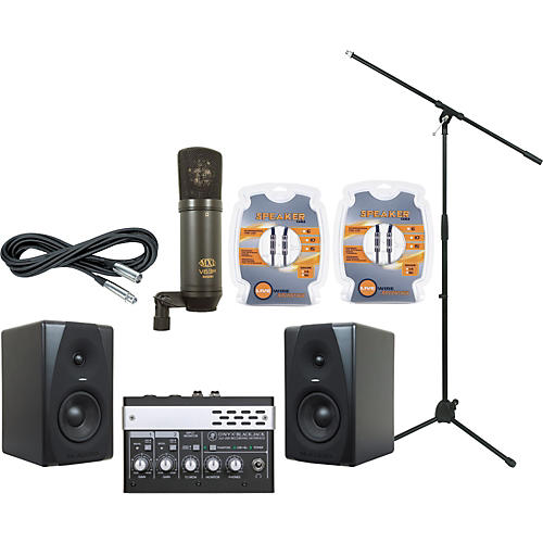 M-Audio Mackie Blackjack and M-Audio CX5 Recording Package