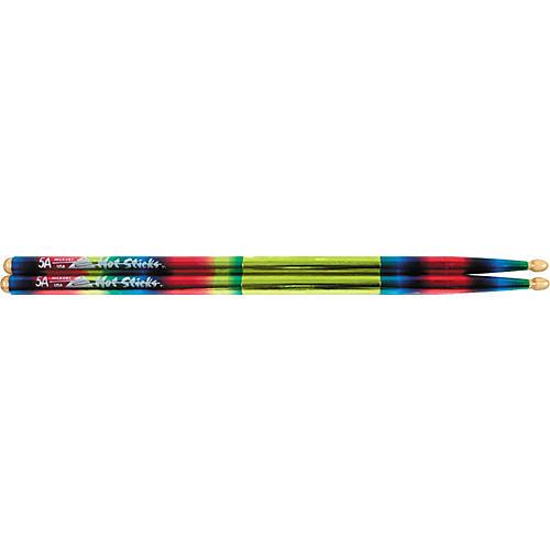 Hot Sticks Macrolus Strike Zone XL Rainbow Drumsticks