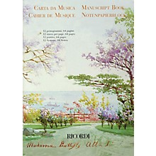Ricordi Madama Butterfly Manuscript Paper (64 pages, 12 staves per page) Misc Series