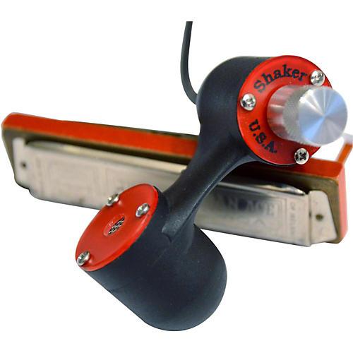 Shaker Madcat Harmonica Microphone Red
