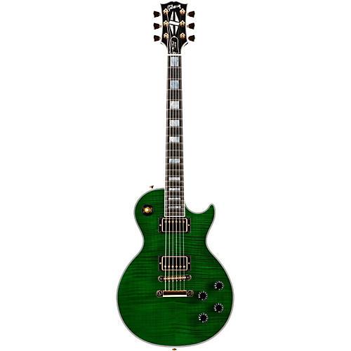 Gibson Custom Made to Measure Figured Les Paul Custom Transparent Green