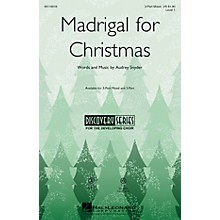 Hal Leonard Madrigal for Christmas (Discovery Level 1) VoiceTrax CD Composed by Audrey Snyder