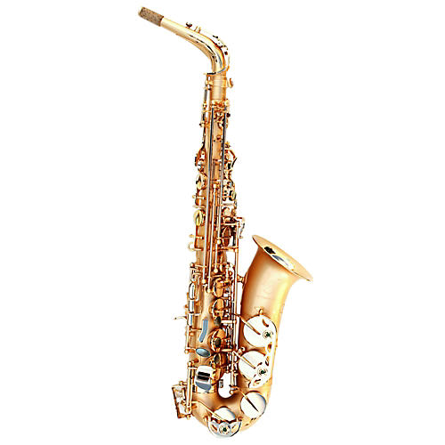 Oleg Maestro Alto Saxophone Silver Plated with Gold Keys