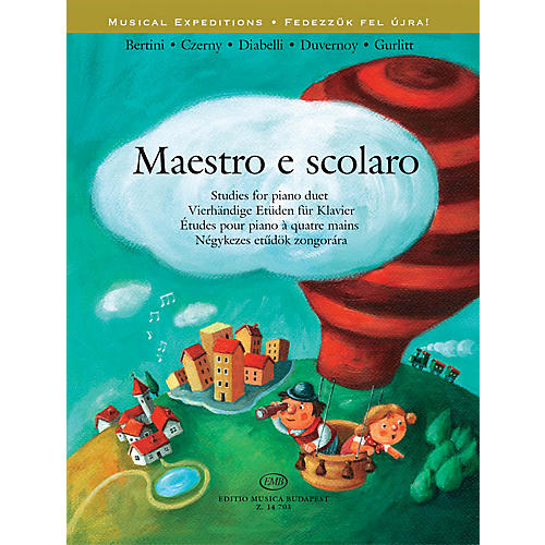 Editio Musica Budapest Maestro e scolaro EMB Series Softcover Composed by Various Edited by Ágnes Lakos