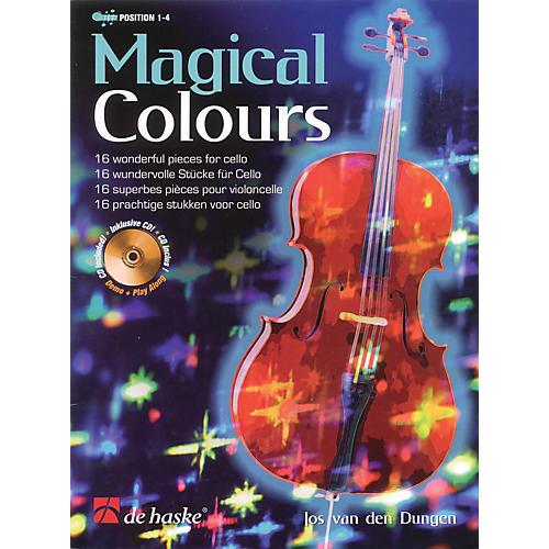 De Haske Music Magical Colours De Haske Play-Along Book Series Softcover with CD Written by Jos van den Dungen-thumbnail