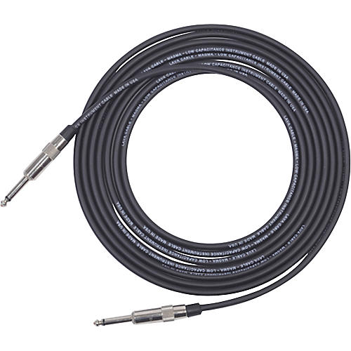 Lava Magma Instrument Cable Straight to Straight Black 25 ft.