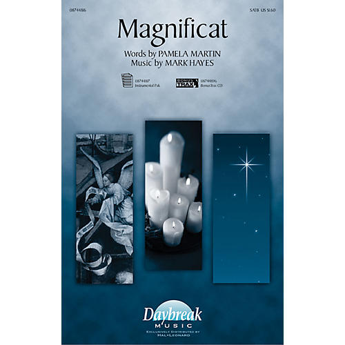 Daybreak Music Magnificat SATB composed by Mark Hayes-thumbnail