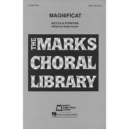 Edward B. Marks Music Company Magnificat SSAA composed by Niccola Porpora-thumbnail