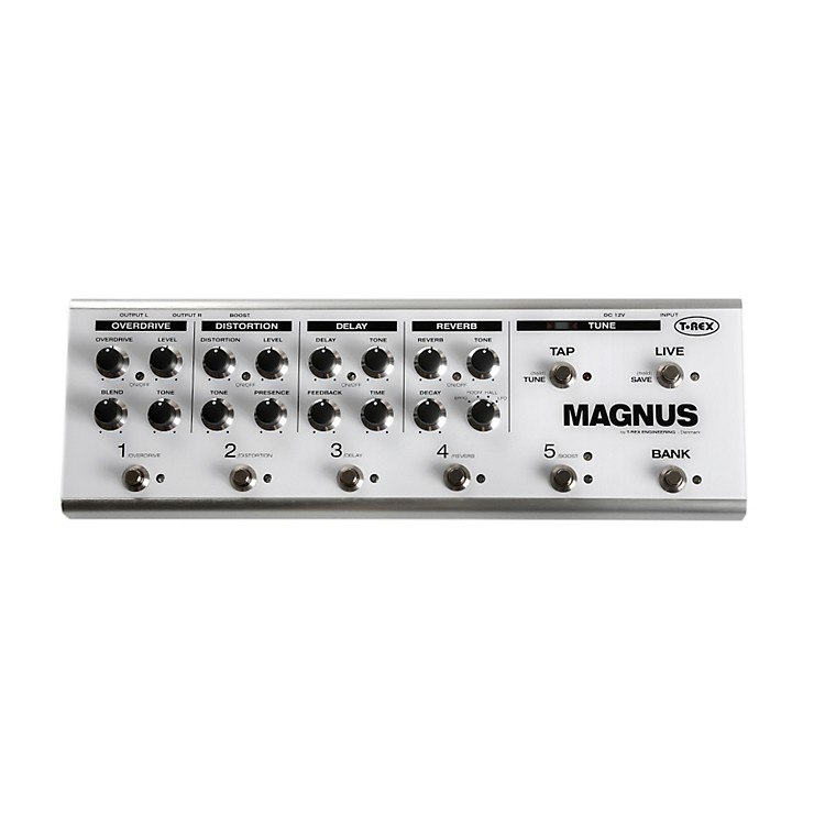 T-Rex Engineering Magnus Boutique Multi-Effects Guitar Pedal