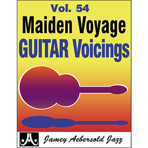 Jamey Aebersold Maiden Voyage Guitar Voicings Play-Along Book and CD-thumbnail