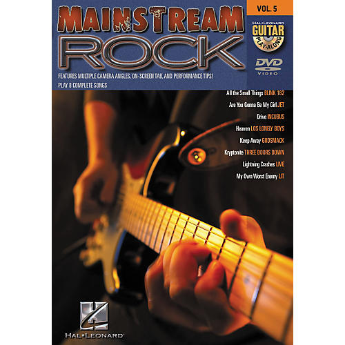 Hal Leonard Mainstream Rock Guitar Play-Along Series Volume 5 DVD