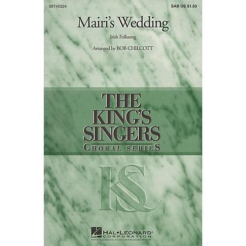 Hal Leonard Mairi's Wedding SAB by The King's Singers arranged by Bob Chilcott