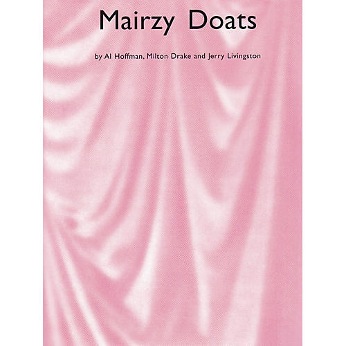 Music Sales Mairzy Doats Music Sales America Series