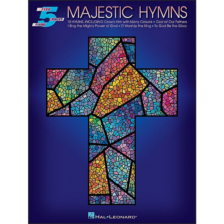 Hal Leonard Majestic Hymns for Five Finger Piano