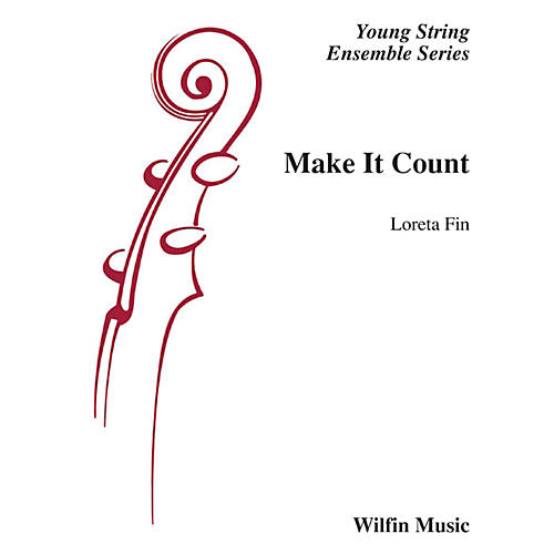 Wilfin Music Make It Count String Orchestra Grade 1-thumbnail