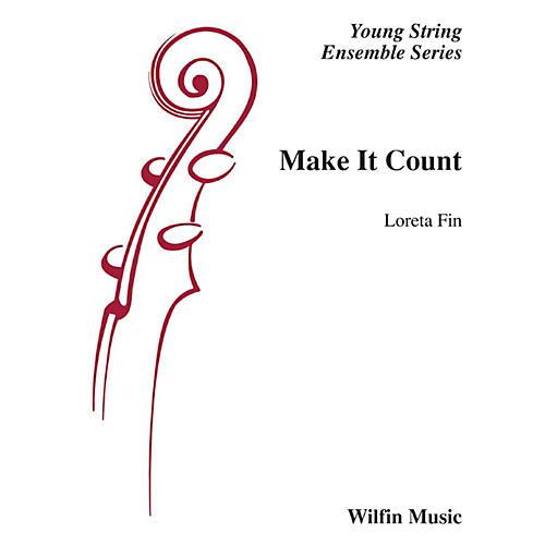 Wilfin Music Make It Count String Orchestra Grade 1