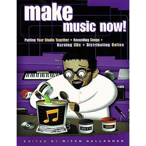 Backbeat Books Make Music Now! Book-thumbnail