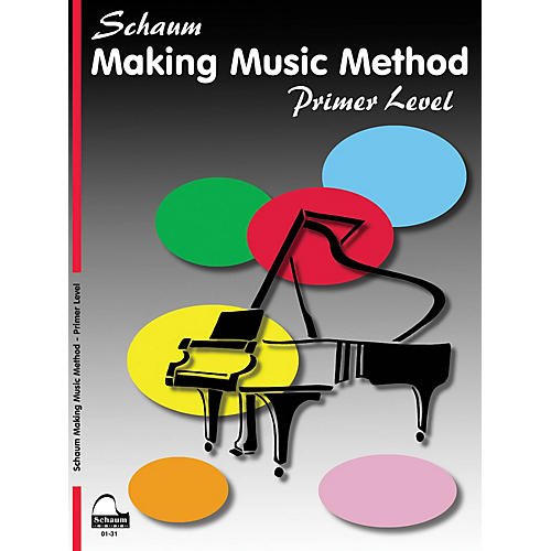 SCHAUM Making Music Method - Middle-C Approach Piano Series Book by John W. Schaum (Level Early Elem)-thumbnail