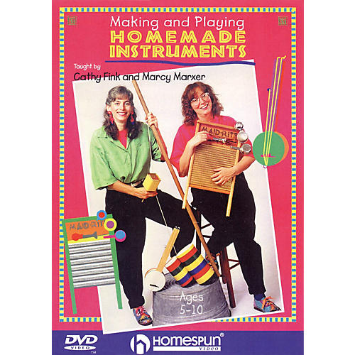Homespun Making and Playing Homemade Instruments Homespun Tapes Series DVD Performed by Marcy Marxer-thumbnail