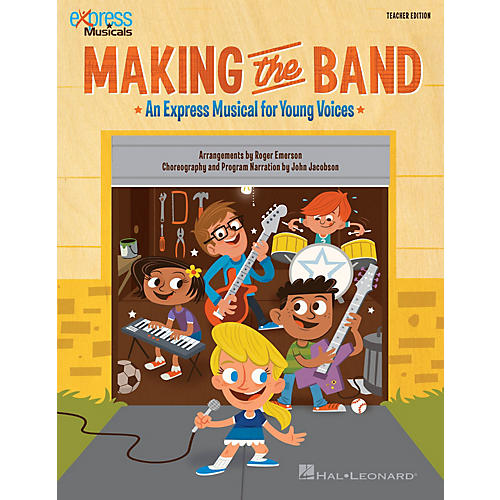 Hal Leonard Making the Band (Express Musical for Young Voices) CLASSRM KIT Arranged by Roger Emerson-thumbnail