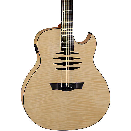 Dean Mako Dave Mustaine Flame Maple Acoustic-Electric Guitar-thumbnail